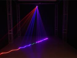 DMX512镭射激光灯控制解决方案